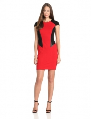 Colorblock dress by Cynthia Steffe at Amazon