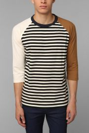 Colorblock raglan tee at Urban Outfitters