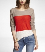 Colorblock sweater by Express at Express