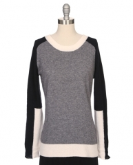 Colorblock sweater by Society at Ron Herman
