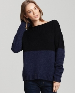 Colorblock sweater by Vince at Bloomingdales