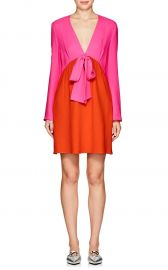Colorblocked Crepe Sheath Dress by Lisa Perry at Barneys