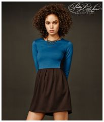 Colorblocked Dress at Aeropostale
