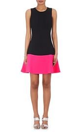 Colorblocked Fit & Flare Dress by Lisa Perry at Barneys