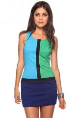 Colorblocked Mod Dress at Forever 21