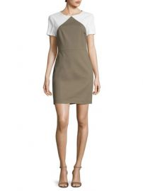 Colorblocked Sheath Dress by Diane von Furstenberg at Gilt at Gilt