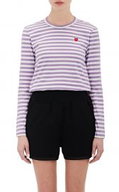 Comme des Garcons PLAY Striped T-Shirt at Barneys