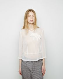 Commes de Garcons  Bow Blouse at La Garconne