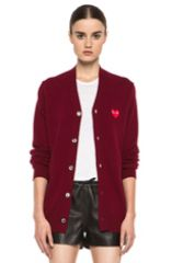 Commes de Garcons Emblem Cardigan at Forward by Elyse Walker