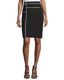 Composition Pencil Skirt by Yigal Azrouel at Neiman Marcus