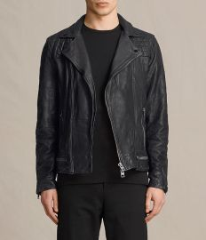 Conroy Leather Jacket at All Saints