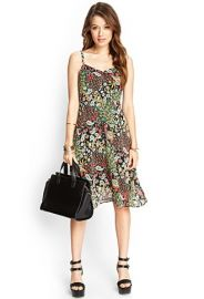 Contemporary Floral Print Cami Dress  Forever 21 - 2000105188 at Forever 21