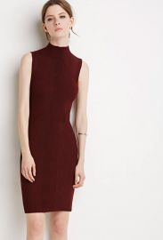 Contemporary Ribbed Knit Bodycon Dress at Forever 21