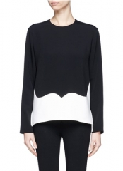 Contrast Panel Top by Stella McCartney at Lane Crawford
