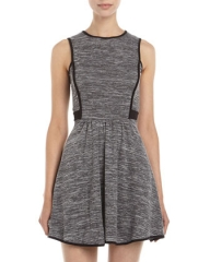 Contrast piping dress by Casual Couture at Last Call