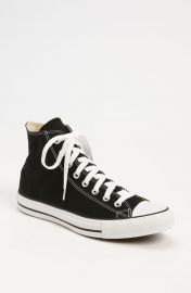 Converse Chuck Taylor High Top Sneaker in Black at Nordstrom
