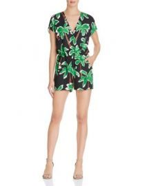Cooper  amp  Ella Esme Palm Tree Romper at Bloomingdales