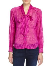 Cooper  amp  Ella Sofia Tie Neck Blouse - 100  Exclusive at Bloomingdales