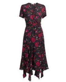 Cora Midi Dress at Intermix