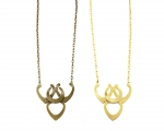 Corazon Necklace by Nissa Jewelry at Nissa