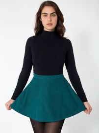 Corduroy Circle Skirt at American Apparel