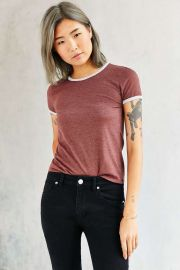 Corner Shop Cartwheel Ringer Tee at Urban Outfitters