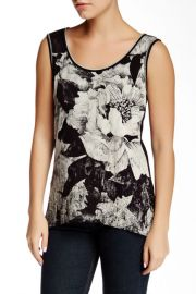 Corrine Hi-Lo Merrow Tank Petite at Nordstrom Rack