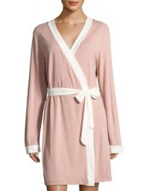 Cosabella - Bella Bridal Long Sleeve Pima Cotton Robe at Saks Fifth Avenue