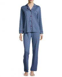Cosabella Bella Dot-Print Long-Sleeve Pajama Set at Neiman Marcus