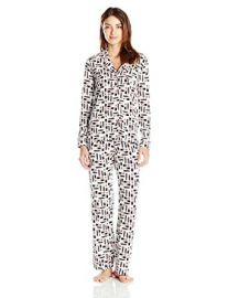 Cosabella Bella Long Sleeve Top and Pant Pajama Set at Amazon