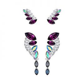 Cosmic Earrings at Swarovski