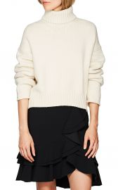 Cotton-Blend Turtleneck Sweater at Barneys