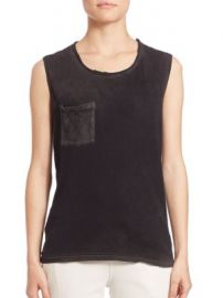 Cotton Citizen - Marbella Muscle Supima Cotton Tank Top at Saks Fifth Avenue