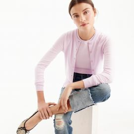 Cotton Jackie cardigan sweater by J. Crew at J. Crew