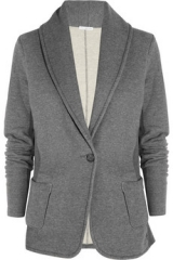 Cotton Jersey Blazer by James Perse at The Outnet
