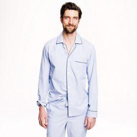 Cotton Poplin Pajama Set at J. Crew