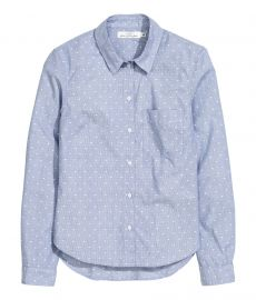 Cotton Shirt at H&M