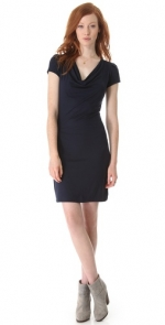 Cowl neck dress by Three Dots at Shopbop