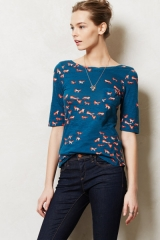 Creature Feature Top at Anthropologie