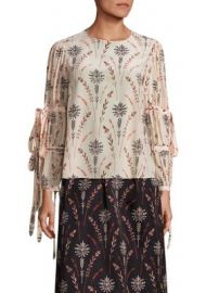 Creatures of the Wind - Tav Floral Printed Blouse at Saks Fifth Avenue