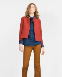 Crepe Blazer at Zara