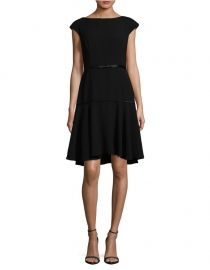 Crepe Fit-&-Flare Dress by Nue by Shani at Lord & Taylor