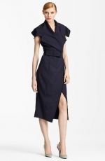 Crepe Trench Dress by Donna Karen at Nordstrom