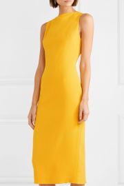 Crepe midi dress at Net A Porter
