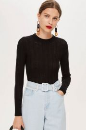 Crew Neck Jumper - Sweaters   Knits - Clothing at Topshop