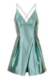Crinkle Satin Prom Dress at Topshop