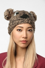 Critter beanie at Urban Outfitters at Urban Outfitters