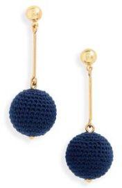 Crochet Ball Drop Earrings by J Crew at Nordstrom