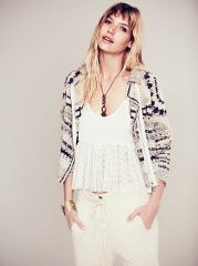 Crochet Moto Jacket at Free People
