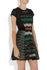 Crochet knit dress by M Missoni at The Outnet